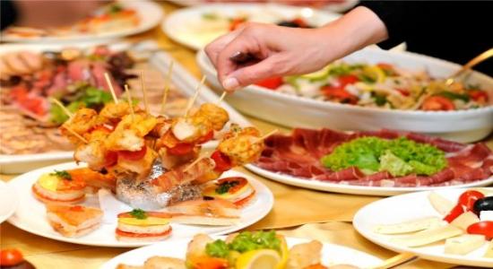 Buffet para casamentos, Festas de 15 anos, Bodas e Eventos Corporativos.